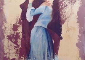 """Rivisitazione del """"Bacio"""" di Hayez"""